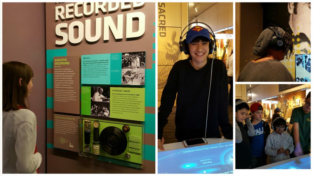 grammy museum collage
