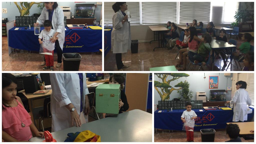 Kindergartners magic of science
